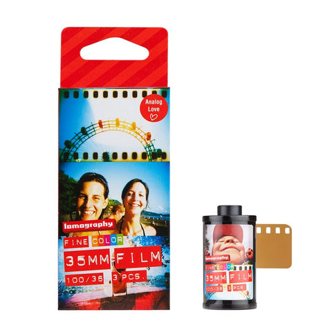 Lomography Color 100, 3 Pack, 35mm