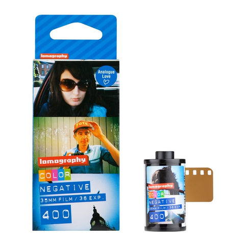 Lomography Color 400, 3 Pack, 35mm