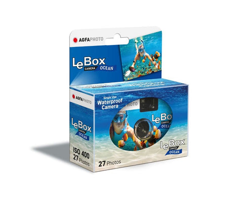 AgfaPhoto LeBox Ocean Single Use Waterproof Camera