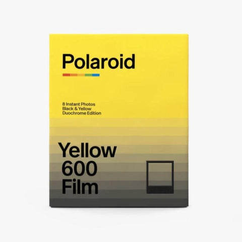 Polaroid Yellow 600 Instant Film (Black Frame)