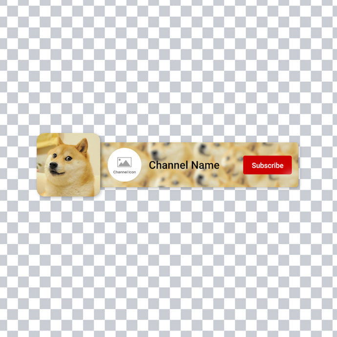 Dogecoin Subscribe Animation