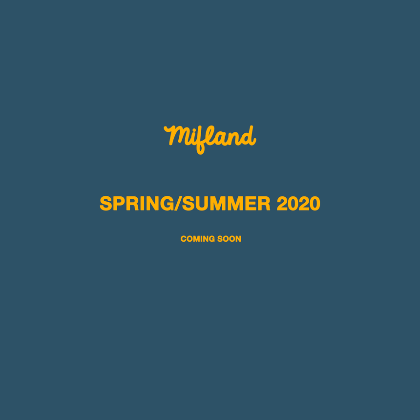Spring Summer 2020 Coming Soon!