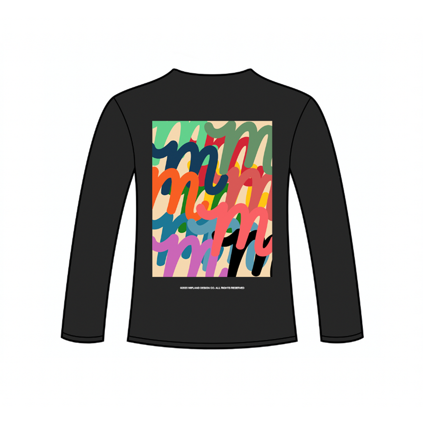 Watercolor Million M L/S