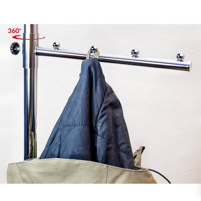 Tatkraft Falcon Heavy Duty Adjustable Garment Rail