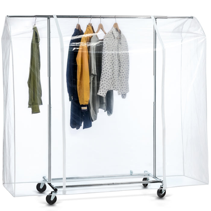 Tatkraft BIG Clothes Rail Transparent Protection Cover