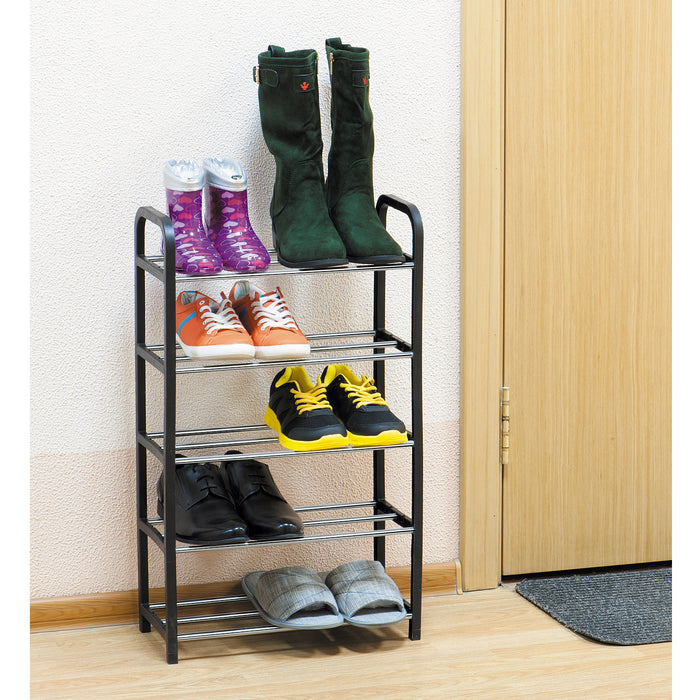 ArtMoon Labrador 5 Shelf Lightweight Plastic Shoe Rack