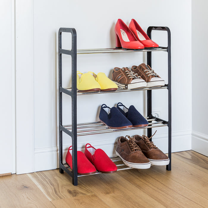 ArtMoon BANFF 4 Shelf Lightweight Shoe Rack