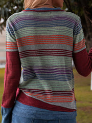 Long Sleeve Knitted Shirts & Tops