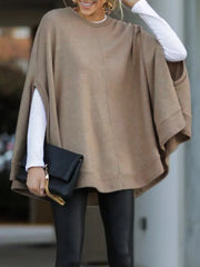 Casual Knitted Fall Solid Knitwear