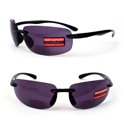 Sport Style Bifocal Reading Sunglasses Men Women Sun Readers 150-300