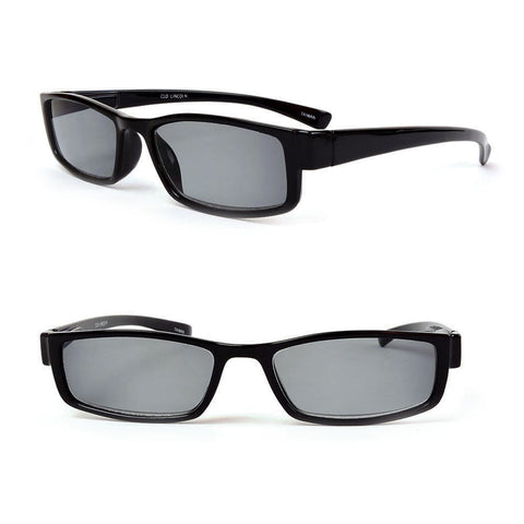 Classic Sun Readers Full Lens Spring Hinges Narrow Profile Reading Sunglasses