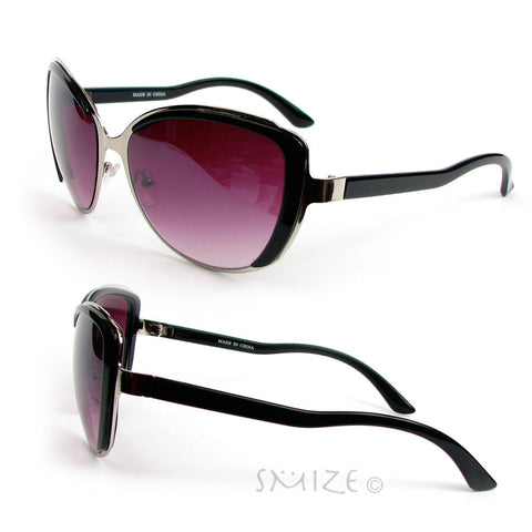 Cat Eye Frame Hot Fashion Oversized Women's Sunglasses