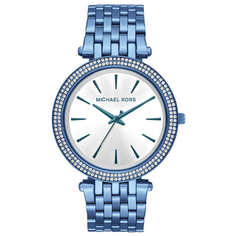 Michael Kors Women's Darci Ocean Blue Stainless Steel Watch MK3675