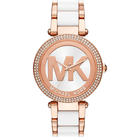 Michael Kors Women's Parker Rose Gold-Tone Watch MK6365