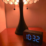 Alarm Clock, FM Radio,  Bluetooth Wireless Speaker, Portable - Nightstand Large Display Clock