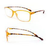Super Light and Extremely Flexible Frame Frosted Matte Finish Reading Glasses