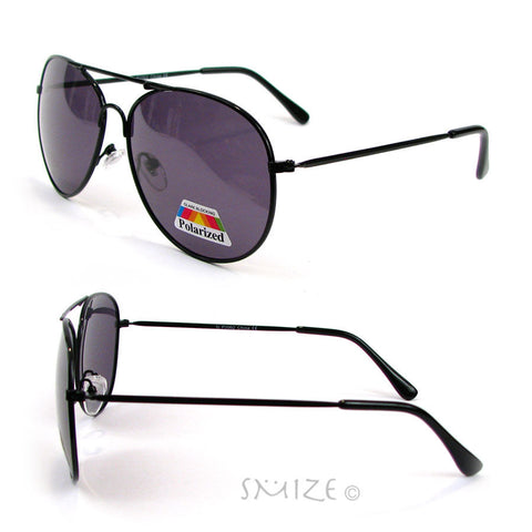 Aviator Polarized Unisex Sunglasses Glare Blocking