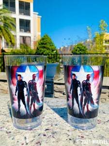 Marvel 24 oz. Falcon and Winter Solider 2 pack Tritan drinking cup