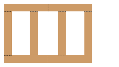 Shaker Wall Panelling Layout Guide