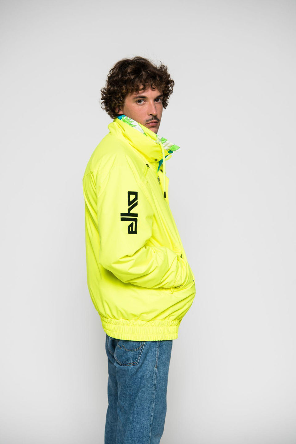 Skijacke-Herren-Men-Jacket-SAVOGNIN 89-YELLOW-Elho-Freestyle-Bild-2