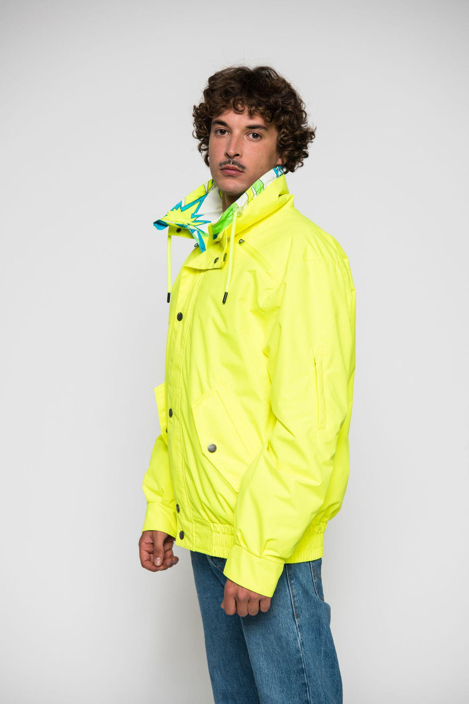Skijacke-Herren-Men-Jacket-SAVOGNIN 89-YELLOW-Elho-Freestyle-Bild-3