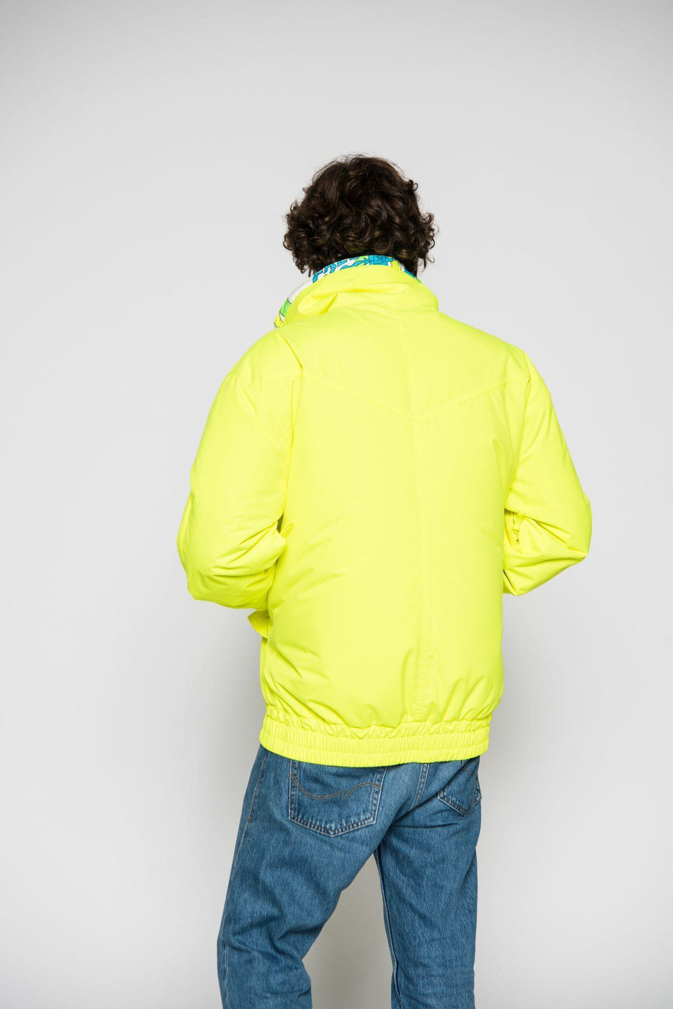 Skijacke-Herren-Men-Jacket-SAVOGNIN 89-YELLOW-Elho-Freestyle-Bild-4