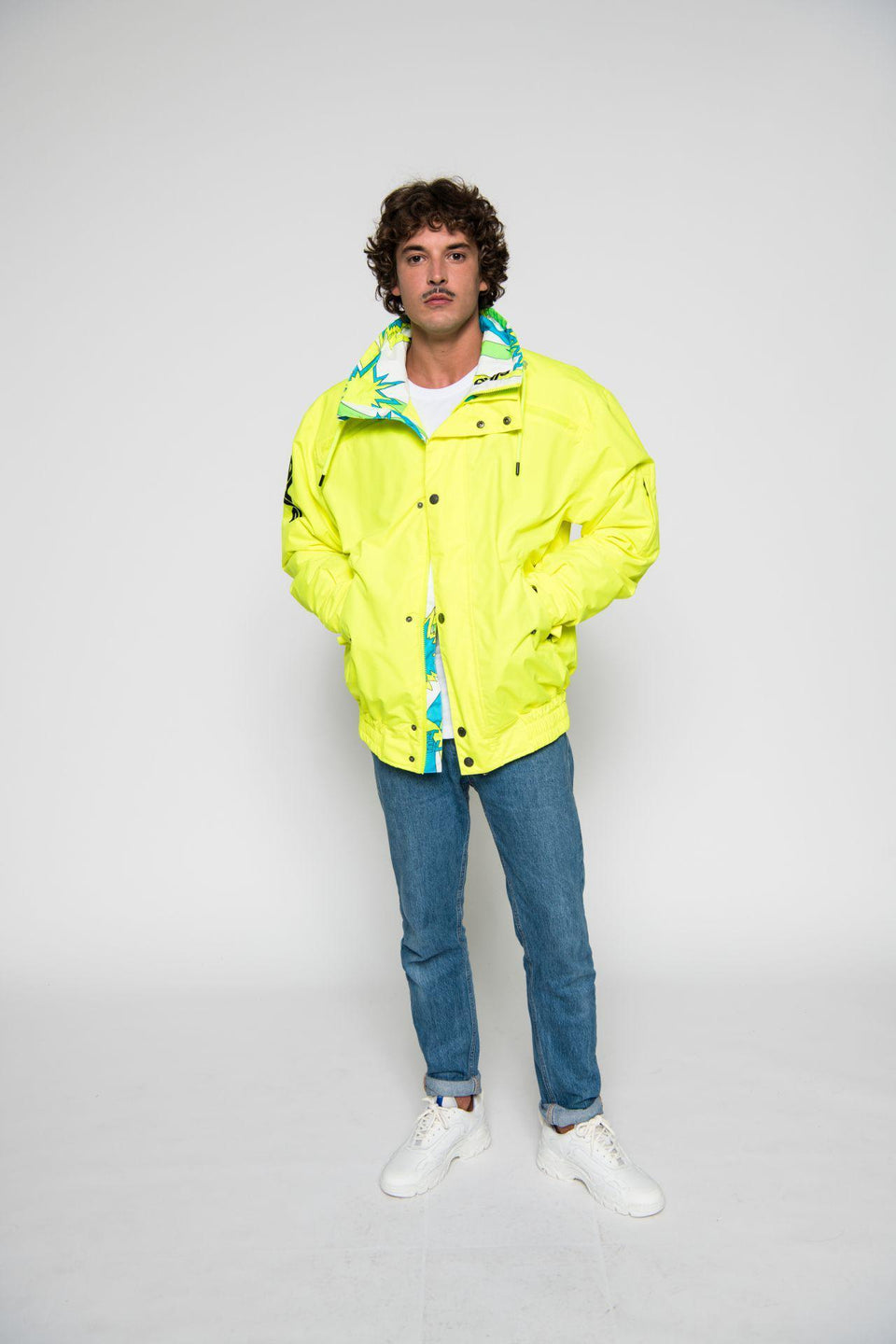 Skijacke-Herren-Men-Jacket-SAVOGNIN 89-YELLOW-Elho-Freestyle-Bild-1