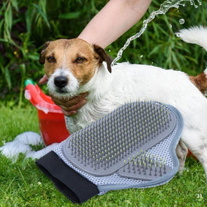 Durable Pet Brush Glove Grooming Combs