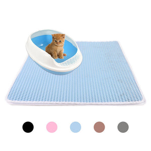 Waterproof Double Layer Litter Mat