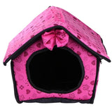 Foldable Pet House Small Footprint Pet Bed Tent