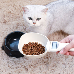 Pet Food Scale Cup Feeding Bowl Kitchen Scale