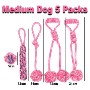 Large Dog Toy Sets Chew Rope Toys for Dog