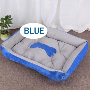 Bone Pet Bed  For Small Medium Large Pet