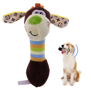 Plush Squeaky Chew Toys