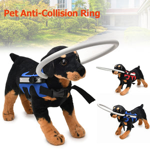 Blind Pet Anti-collision Collar Dog Guide Training