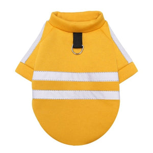 Dog Clothes Winter Fluorescence Safe Warm Pet