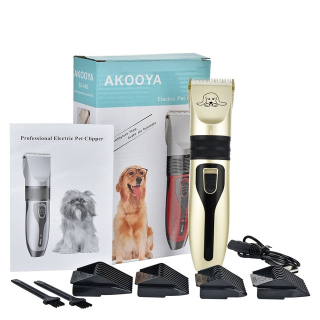 Dog Clippers Low Noise Pet Shaver