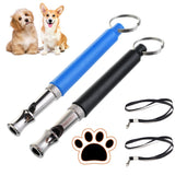 2pcs Whistles to Stop Barking with Rope Silent for Training Aids