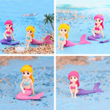 Aquarium Fish Tank Cute Little Mermaid Ornament