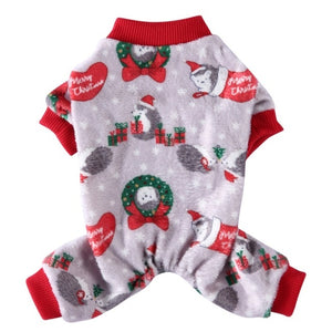 Christmas Dog Clothes Polyester Pet Clothing For Small Medium Dog