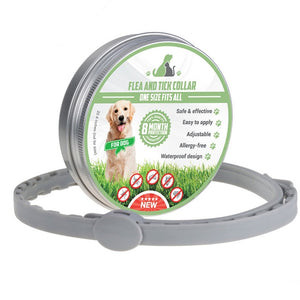 Adjustable Anti-Flea & Tick Protective Collar
