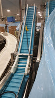 331889 - TWO PRODUCT INCLINE CONVEYORS - intechenterprises.com