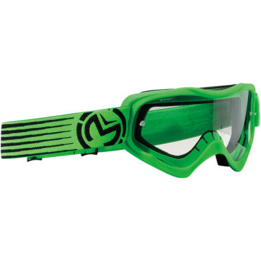 MOOSE RACING SOFTGOODS GOGGLE QUALFR SLASH GN/BK