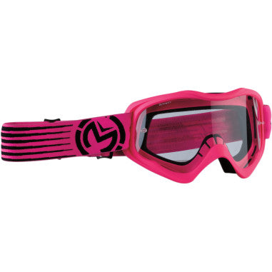 MOOSE RACING SOFTGOODS GOGGLE QUALFR SLASH PK/BK