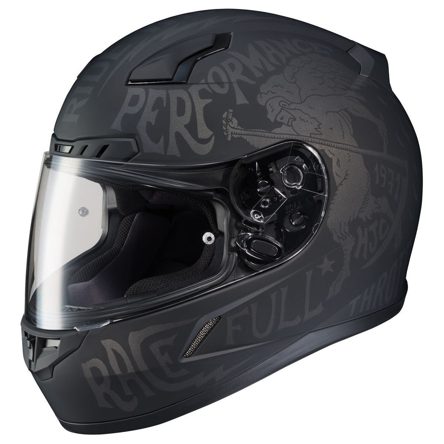 HJC CL-17 REBEL FLAT  HELMET