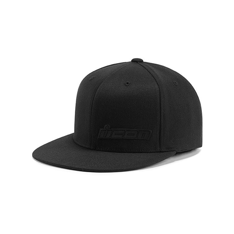 FUSED L/XL BLACK HAT ICON