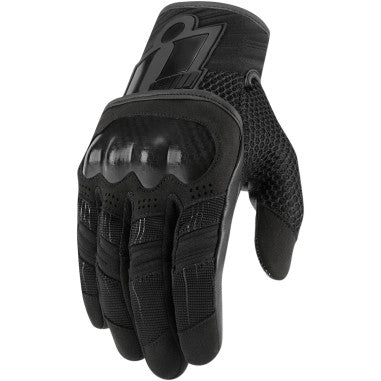 ICON GLOVE OVERLORD BLACK LG