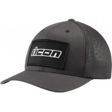 ICON HAT CORP LOGO GRY L/XL