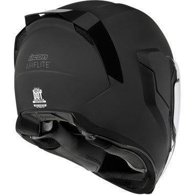 ICON HELMET AFLT RUB BLACK