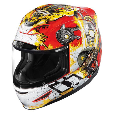 ICON HELMET AM MONKEY BUSINESS